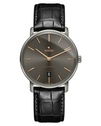 Rado Diamaster Automatic Leather Watch