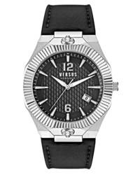 Versus Versace Echo Park Leather Watch