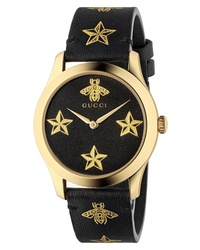 Gucci G Timeless Leather Watch