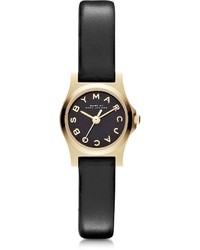 Marc by Marc Jacobs Henry Dinky 21mm Leather Strap Watch