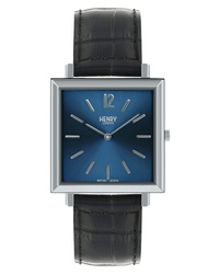 Henry London Heritage Leather Watch