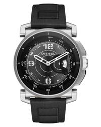 Diesel Hybrid Leather Watch
