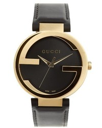 Gucci Leather Strap Watch 40mm