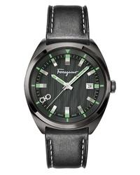 Salvatore Ferragamo Leather Watch