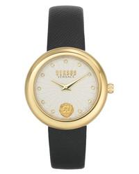 Versus Versace Leather Watch