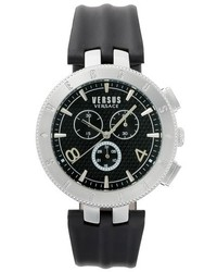 Logo chronograph leather strap watch 44mm medium 5255699