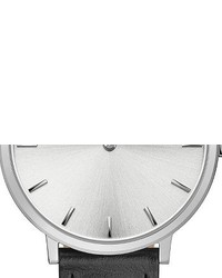 Rebecca Minkoff Major Stud Leather Strap Watch 35mm
