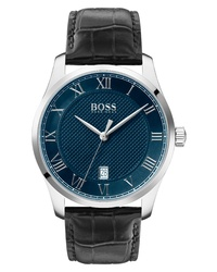 BOSS Master Classic Leather Watch
