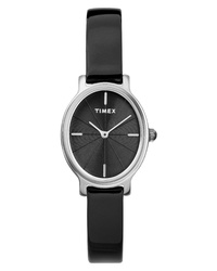 Timex Milano Oval Leather Watch