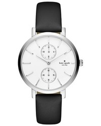 New york monterey multifunction leather strap watch 38mm medium 5255691