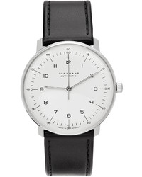 Junghans Silver Black Automatic Max Bill Watch