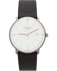 Junghans Silver White Automatic Max Bill Bauhaus Watch