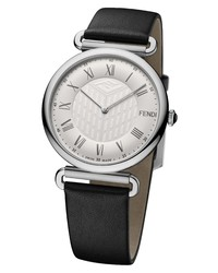 Fendi Stainless Leather Watch