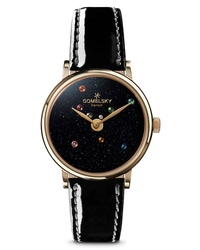 GOMELSKY The Agnes Varis Solar System Leather Watch