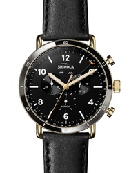 Shinola The Canfield Sport Chrongraph Watch