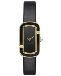 The jacobs leather strap watch 39mm medium 4953374