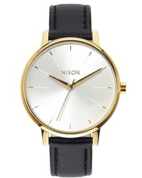The kensington leather strap watch 37mm medium 324908