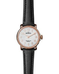 The runwell leather strap watch 28mm medium 5209639