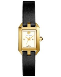 Tory Burch Dalloway Leather Strap Watch 21mm X 24mm