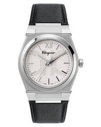 Salvatore Ferragamo Vega Leather Watch