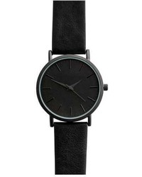 H&M Watch With Leather Band