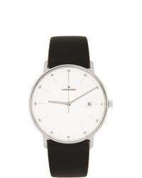 Junghans White And Black Form Quartz Watch