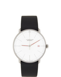 Junghans White And Black Max Bill Automatic Watch