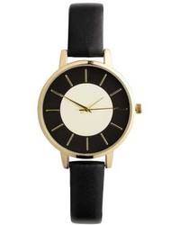 H&M Wristwatch With Leather Strap