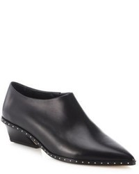IRO Festano Leather Point Toe Booties