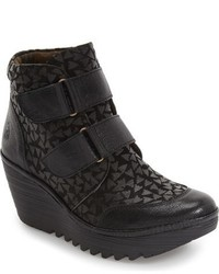 Fly London Yugo Wedge Bootie