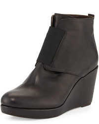 Coclico Halette Wedge Ankle Boot Rogue Black