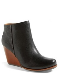 Kork Ease Natalya Burnished Leather Demi Wedge Boot