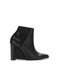 Studio Chofakian Leather Wedge Boots