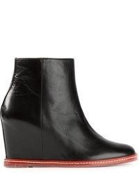 Maison Martin Margiela Mm6 Maison Margiela Ankle Wedge Boots