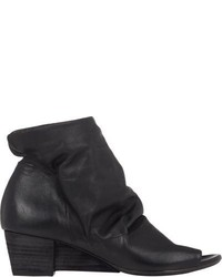 Marsèll Notched Wedge Ankle Boots