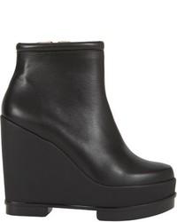 Robert Clergerie Sarlah Platform Ankle Boots Black