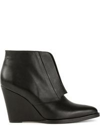 Surface to Air Wedge Ankle Boots