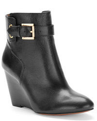 Nine West Zapper Wedge Ankle Boots