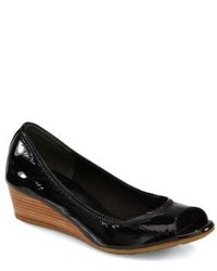 Cole Haan Air Tali Patent Leather Wedge Pumps