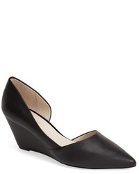 Kenneth Cole New York Ellis Half Dorsay Wedge Pump