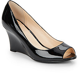 Cole Haan Patent Leather Peep-Toe Pumps clearance online ebay buy cheap choice wiki cheap price sale footlocker 3Ru4BL
