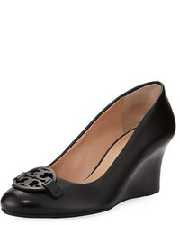 Tory Burch Miller Smooth Leather 65mm Wedge Pump