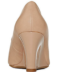 Liz Claiborne Paula Peep Toe Wedge Pumps