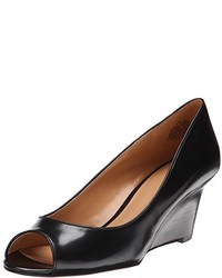 Nine West Relaxinn Leather Wedge Pump