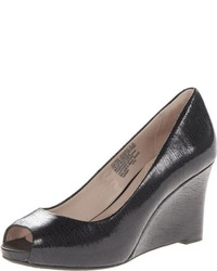 Rockport Seven To 7 Peep Toe Wedge Pump