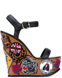 Dsquared2 Hackney Wedge Sandals