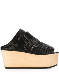 Marsèll Perforated Wedge Sandals