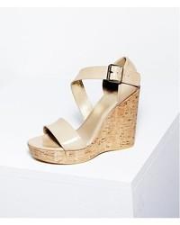 c1a8e9480ee1 ... Stuart Weitzman Oneliner Patent Leather Wedge Sandal