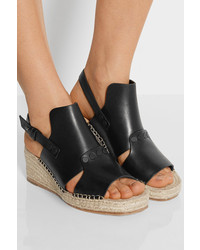 for sale cheap price sale pre order Rag & Bone Leather Espadrille Wedges best store to get for sale 2014 cheap online zvnmXKAP