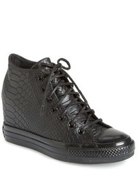Converse Chuck Taylor All Star Embossed Reptile Wedge Sneaker